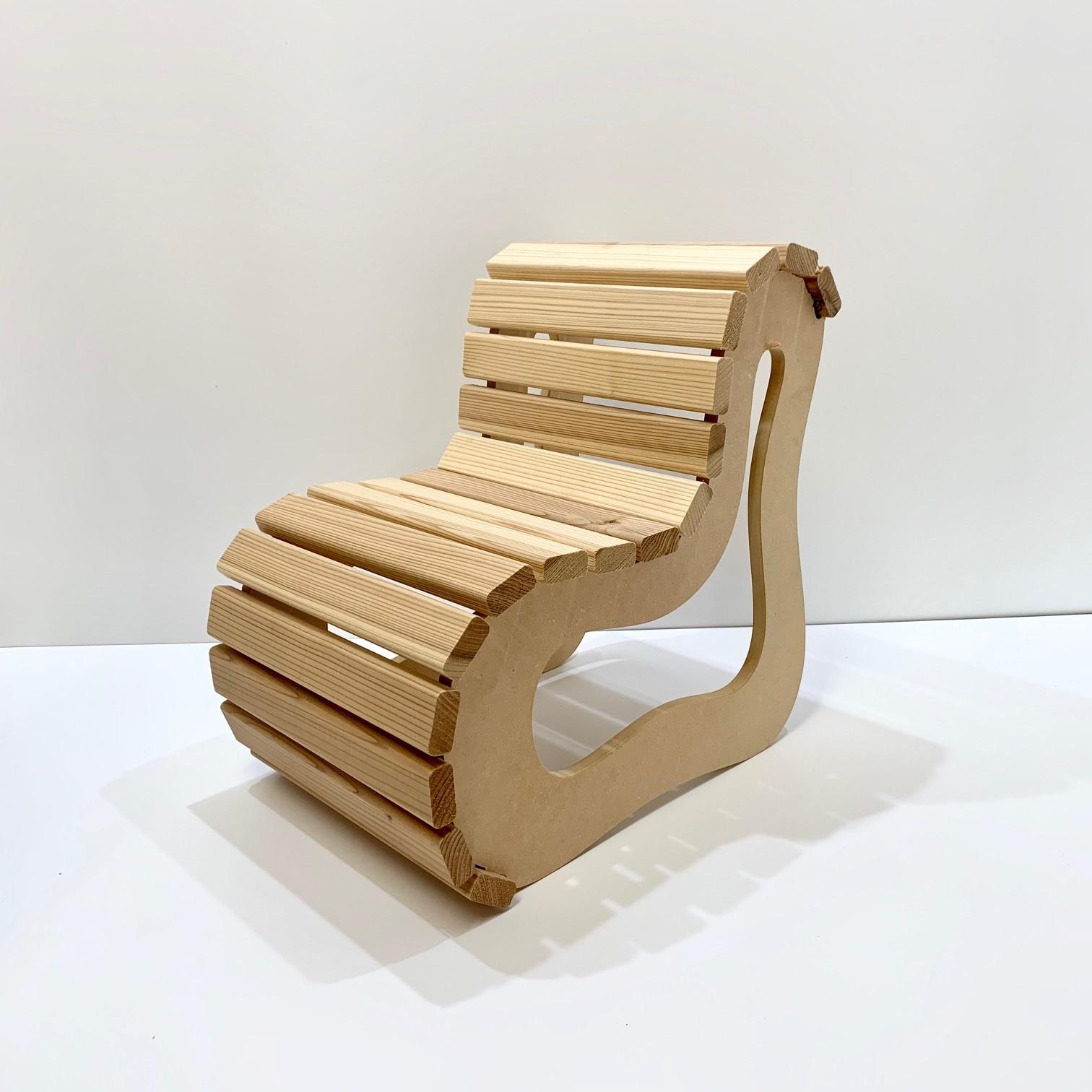 老津木工 おいつもっこう ポムチェア POMCHAIR 木育 DIY 間伐材 子供椅子 チェア